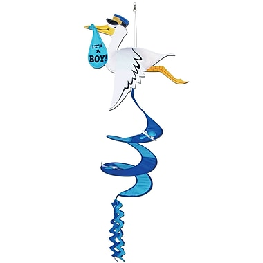 Stork It's A Boy! Wind-Spinner, 3', 6