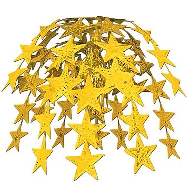 Cascade d'étoiles, 24 po, doré, 2/paquet