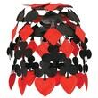 Beistle 24in. Casino Cascade, Black/Red, 2/Pack
