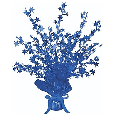Centre de table étoilé Gleam 'N Burst, 15 po, bleu, 3/paquet