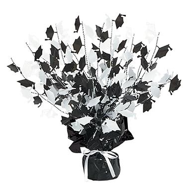 Centre de table en mortiers Gleam 'N Burst, 15 po, noir et blanc, paquet de 3