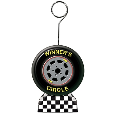 Racing Tire Photo/Balloon Holder, Each Photo/Balloon Weight Is 6 Ounces, 3/Pack