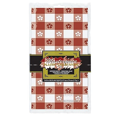 Gingham Tablecover, 54