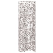 """Beistle 29"""" x 14' Lace Plastic Table Skirting, Silver, 2/Pack"""