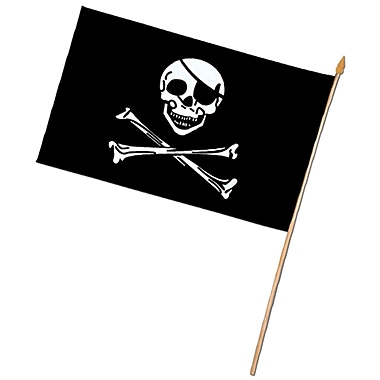 Rayon Pirate Flag, 11