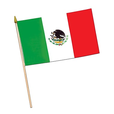 Beistle Rayon Mexican Flag, 11