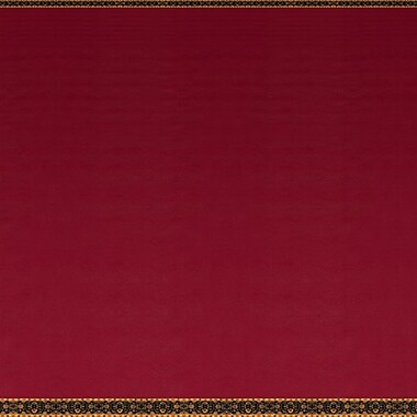 Red Black-Tie Ballroom Floor Backdrop, 4' x 30'
