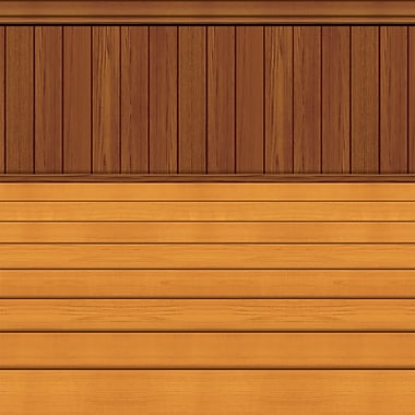 Floor/Wainscoting Plastic Backdrop, 4' x 30'
