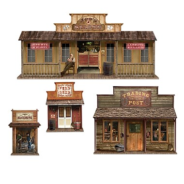 Wild West Town Props, 24