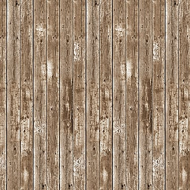 Beistle 4' x 30' Barn Siding Backdrop