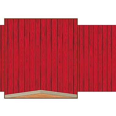 Red Barn Siding Backdrop, 4' x 30'