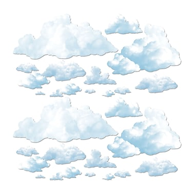 Fluffy Cloud Props, 4