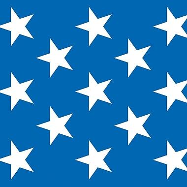 Beistle 4' x 30' Patriotic Stars Backdrop