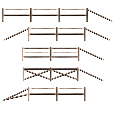 Split Rail Fence Party-Props, 3' 2-1/2