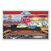 Beistle Drive-In InstaView Party Decoration, 5' 2 x 3' 2, 2/Pack