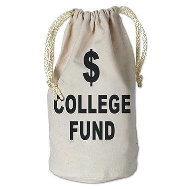 Beistle College Fund Money Bag, 8 1/2