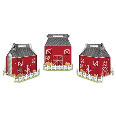 Barn Favor Boxes, 3