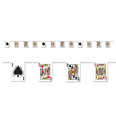 Playing Card Pennant Banner, 7