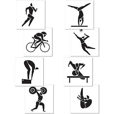 Summer Sports Cutouts, 17