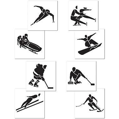 Winter Sports Cutouts, 17