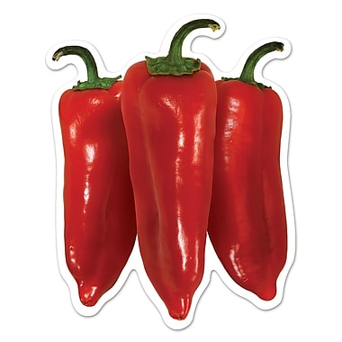 Mini Chili Pepper Cutouts, 4-1/2