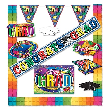 Congrats Grad Party Kit, Assorted Sizes