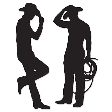 Cowboy Silhouettes, 35