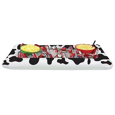 Cow Print Buffet Cooler, 28