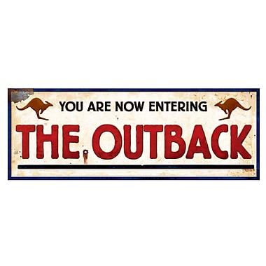 Outback Sign, 8