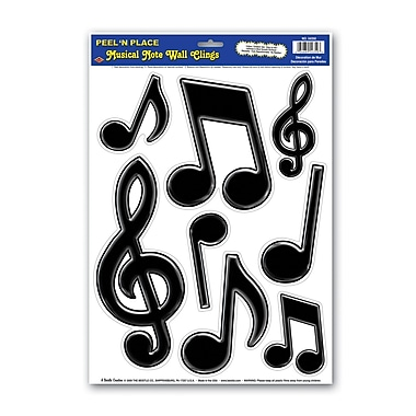 Notes de musique Peel 'N Place, 12 po x 17 po, 4/paquet