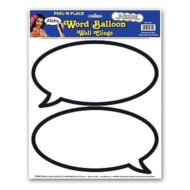 Word Balloons Peel 'N Place, 12