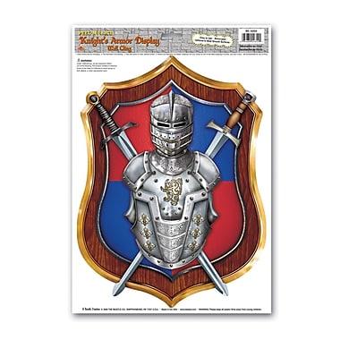 Knight's Armor Display Peel 'N Place, 12
