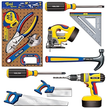 Découpes outils, entre 6 et 19 po, 36/paquet