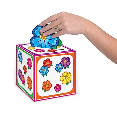Beistle Hula Baby Gift Card Box, 6