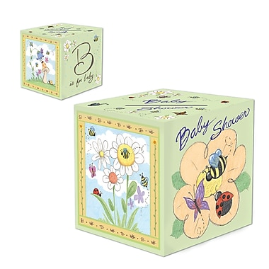 Beistle B Is For Baby Gift Card Box, 6
