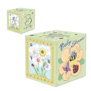 Beistle B Is For Baby Gift Card Box, 6 x 6