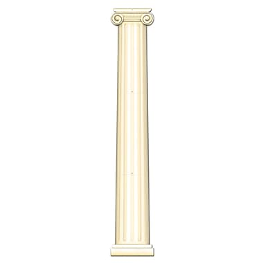 Column Pull-Down Cutout, 6', 2/Pack