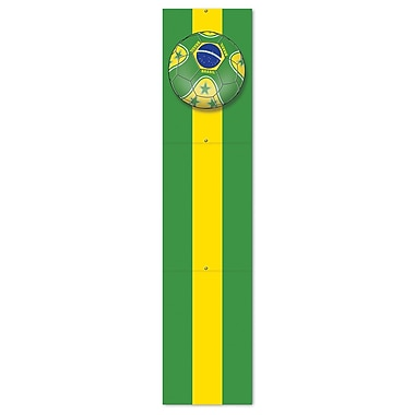 Beistle 5' Jointed Pull Down Cutouts, Brasil, 2/Pack