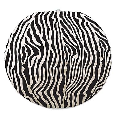 Zebra Print Paper Lanterns, 9-1/2