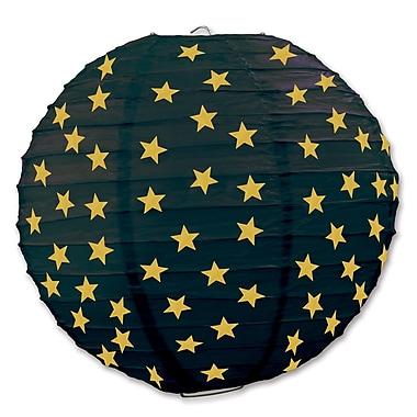 Lanternes en papier étoiles, 9 1/2 po, 6/paq.