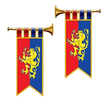 Herald Trumpet Cutouts, 17