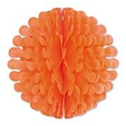 """Beistle 19"""" Tissue Flutter Ball, Orange, 2/Pack"""
