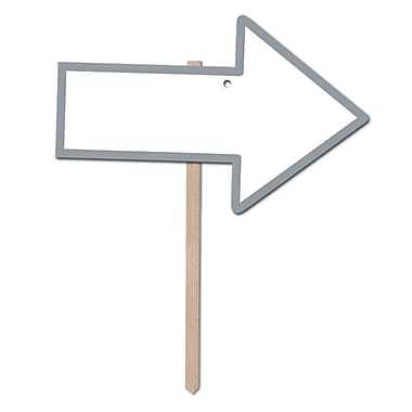 Blank With Arrow Yard Sign, 9