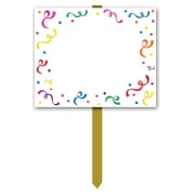 "Beistle 12"" x 15"" ""Blank"" Yard Sign, 3/Pack"