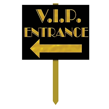 VIP Entrance Yard Sign, 12