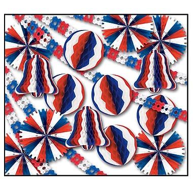 Beistle 26-Piece Patriotic Display Decorator