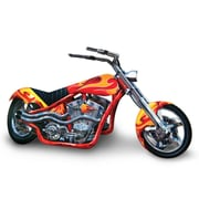 "3-Dimensional Chopper Centerpiece, 6"" x 14"", 5/Pack"