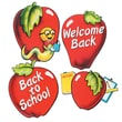 Beistle 16in. School Days Apple Cutouts, 12/Pack