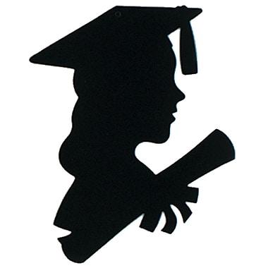 Girl Graduate Silhouette, 8
