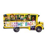 Découpes autobus scolaire, 18 po, 10/paquet